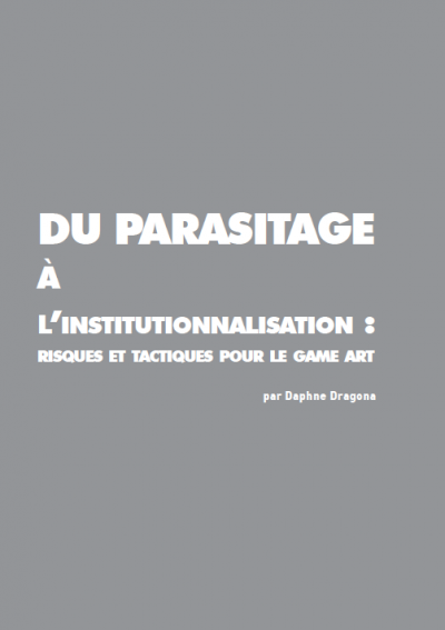 Du parasitage à l'institutionnalisation par Daphne Dragona