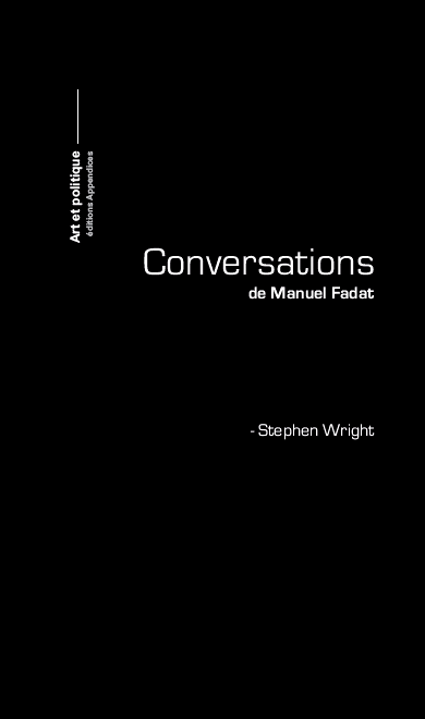 Conversation avec Stephen Wright