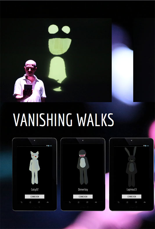 Diego Ortiz et Antoine Gonot / Vanishing walks